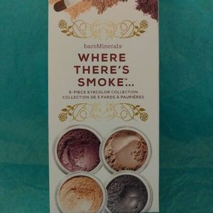 Bare Minerals Where There's Smoke Shadow Set NEW